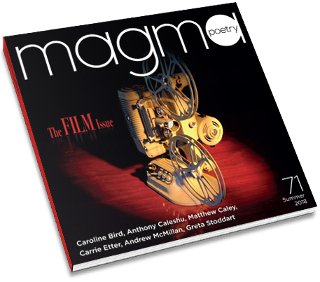 magma poetry issue 71